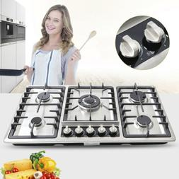 33.8in./23in. Cooktop Stainless Steel Built-in Cooktops NG/L