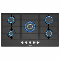 """36"""" Built-in Gas Cooktop KUPPET QB5903 Gas Stove with 5 Boos"""