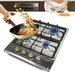 4 Burners Built-In Gas Stove Cooktop Kitchen Gas Cooking Coo