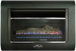 Duluth Forge DF300L Ventless Linear Wall Gas Fireplace,26K B