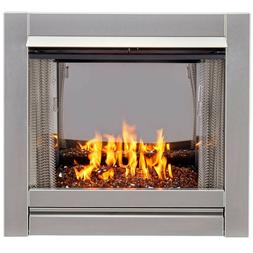 Duluth Forge DF450SS-G-RCO Vent Free Stainless Outdoor Gas F