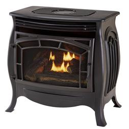 Duluth Forge Dual Fuel Ventless Gas Stove - 26,000 BTU, Remo