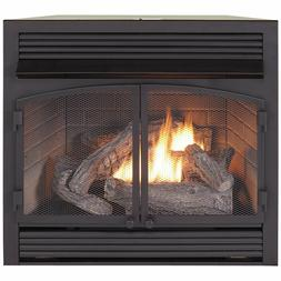 Duluth Forge Dual Fuel Ventless  Gas Fireplace Insert 32,000