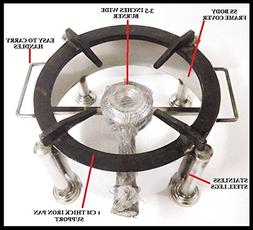HIGH FLAME COMMERCIAL RANGE ROUND GAS STOVE COOKTOP HOB PROP