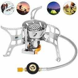 XYCING Foldable Camping Stove Portable Windproof Backpacking