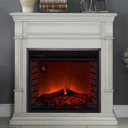 Duluth Forge Full Size Electric Fireplace - Remote Control,