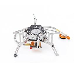 Gas Burner Stainless Steel Outdoor Camping Propane Grill Sto