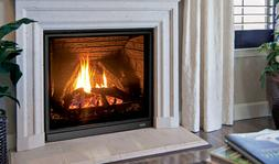 Enviro Gas Fireplace Q3 with Logs