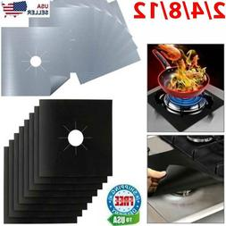 Gas Range Stove Top Burner Cover Protector Reusable Liner Cl