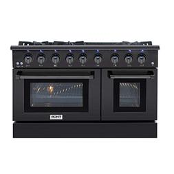 Thor Kitchen 48 Inch Gas Range 6 Burners Cooktop 6.7 cu.ft O