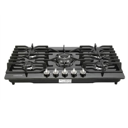 "Branded 30""Built-in Cooktop 5 Burners Stove LPG/NG Gas Hob C"