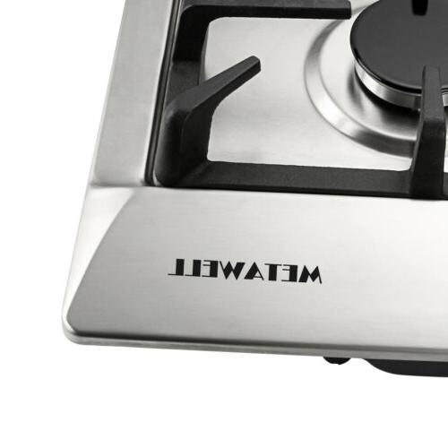 """30"""" Natural GAS w/ Stainless Cooktops,3KW"""