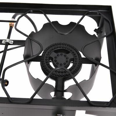 Double Cooker Outdoor Camping Stove Grill