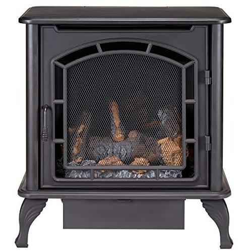 Duluth DF25SMS Dual Fuel Stove, Black