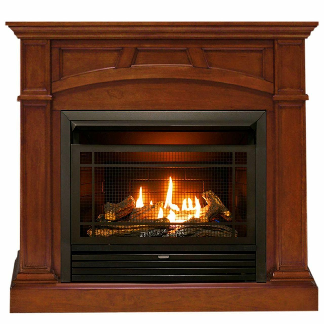 dual fuel ventless fireplace 26