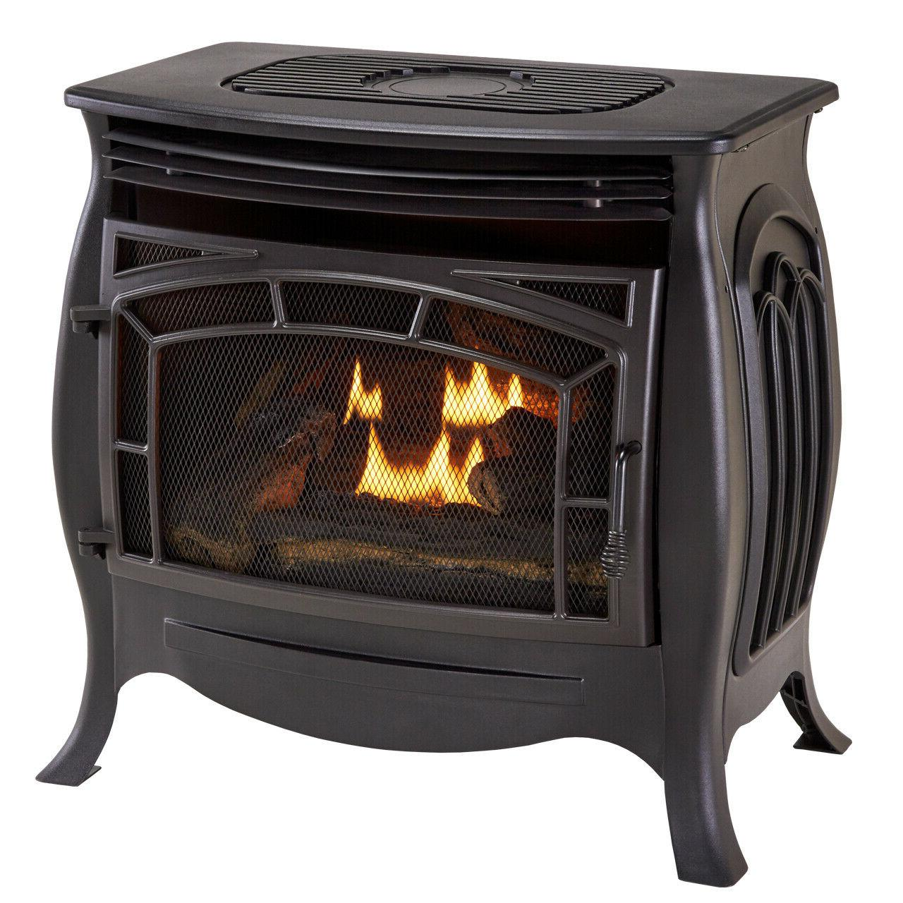 dual fuel ventless gas stove 26 000