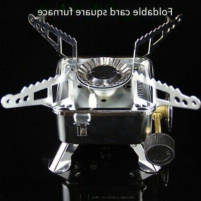 Gas Camping Stove Tourist Outdoor Kitchen Propane