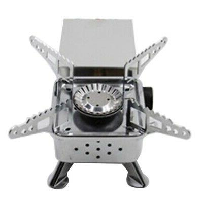 gas burner camping stove tourist equipment outdoor