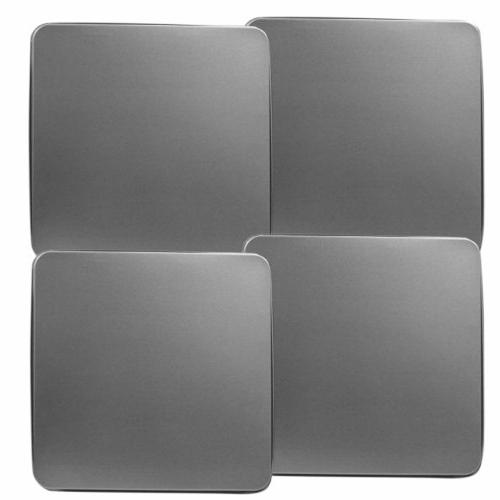 Reston Lloyd Square Gas Stove Burner Covers, Set of 4, Stain