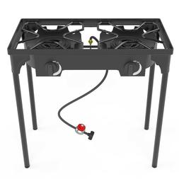 outdoor and indoor portable propane stove single