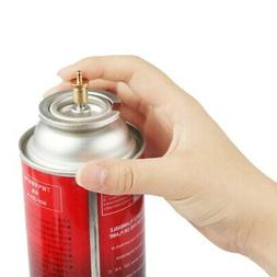 Outdoor Gas Refill Adapter Camping Stove Cylinder Butane Can