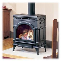 Majestic Oxford Direct Vent Gas Stove with Standing Pilot in