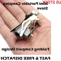 Portable Camping Steel Stove Outdoor Picnic Hiking Foldable