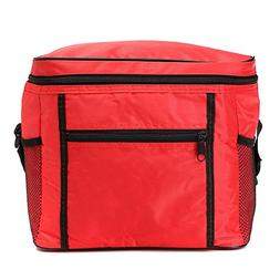 Portable Oxford Thermal Cooler Insulated Tote Waterproof Pic