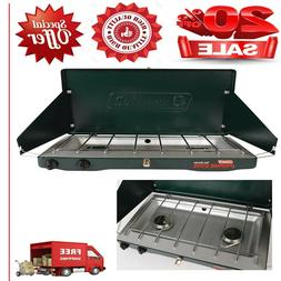Coleman Portable Propane Gas Classic Stove with 2 Burners Id
