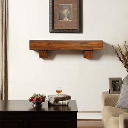 Duluth Forge 48-Inch Shelf Corbels-Brown Finish Fireplace Ma