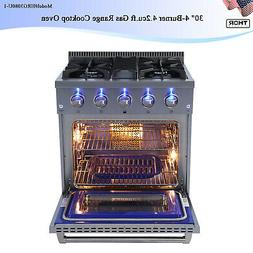 """THOR 30"""" Oven Stove Built-in Gas Range Cooktop 4.2cu.ft Stai"""