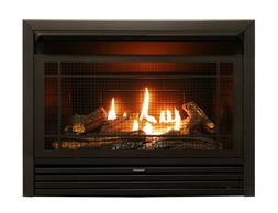 Ventless Gas Fireplace Insert Logs Natural Propane 23 Inch I